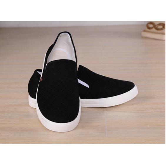 Toile chaussures de vieux Pékin hommes, chaussures de sport, de la mode des chaussures pour hommes montrent grille