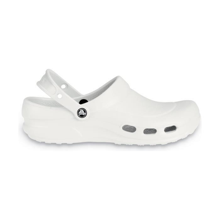 Noir Femme Crocs De Sabots Vent Specialist Travail blanc 6wr6Y