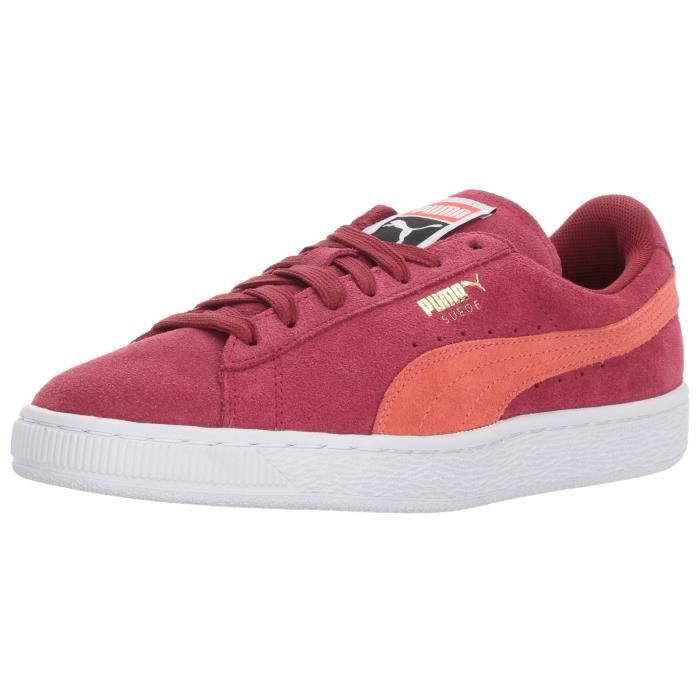 2 Suede Taille Z9601 38 Puma Rouge 1 Classic Sneaker Wn rsxQdhCoBt