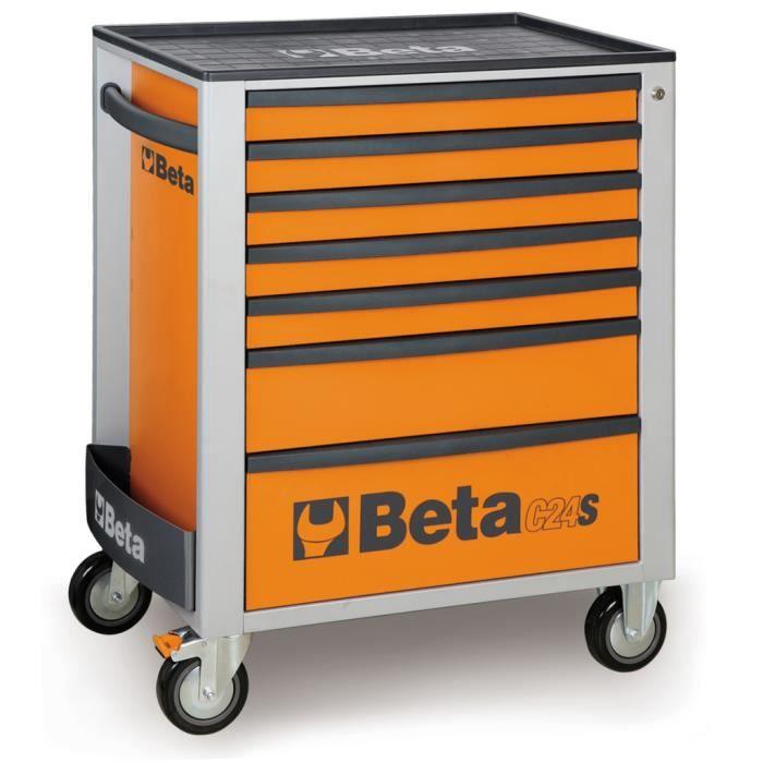 75e74bd6f80e8 Beta Tools armoire à roulette C24S 7-O en acier 024002071 - Achat ...