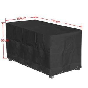 Housse table de jardin impermeable - Achat / Vente pas cher