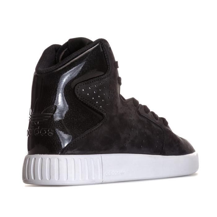 Baskets adidas Originals Tubular Invader 2.0 pour Femme en noir.