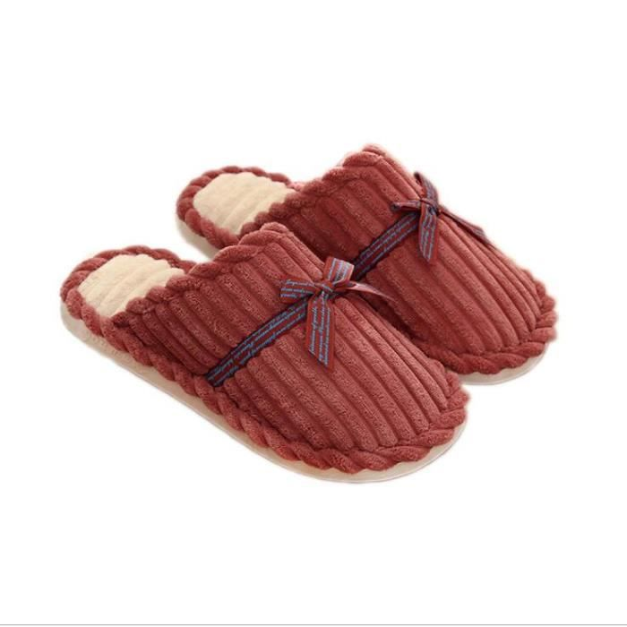 Chaussons Pantoufles d'intérieur Hommes et femmes Mousse à mémoire antiadhésive confortable