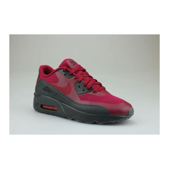 on sale 040b9 ffe9c Baskets Nike Air Max 90 Ultra 2.0 Junior Rouge Rouge Rouge - Achat   Vente  basket - Cdiscount