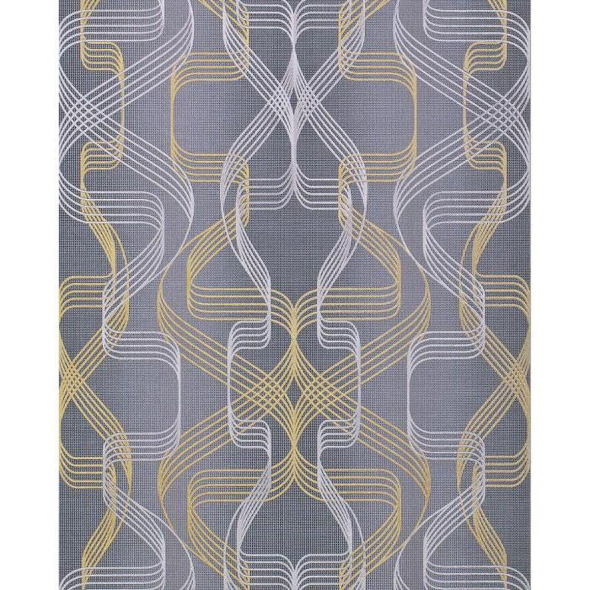 Papier peint motif graphique beautiful download by tablet - Decoller papier peint difficile ...