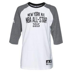 ADIDAS T-shirt New York Basket-Ball NBA Homme BKT