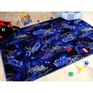 TAPIS Tapis de jeu pour enfant motif STAR WARS bleu - 17