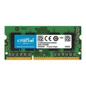 MÉMOIRE RAM Mémoire CRUCIAL 4GB DDR3L 1866 MT/s (PC3-14900) CL
