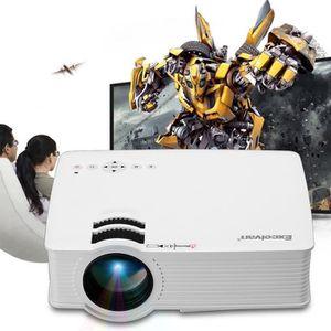 Vidéoprojecteur Excelvan EHD09 Mini Projecteur LED 800x480 Pixels
