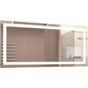 Miroir de salle de bain 120 cm Achat Vente Miroir de salle de