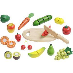 DINETTE - CUISINE howa - Fruits et Lègumes a Découper en bois 4867