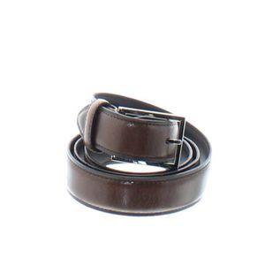 CEINTURE ET BOUCLE Ceinture cuir vachette ref col34351-marron-70 ... 30bb88d8c86