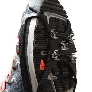 CRAMPON POUR GLACE Paire De Crampons Anti-Dérapants D'Alpinisme En Pl