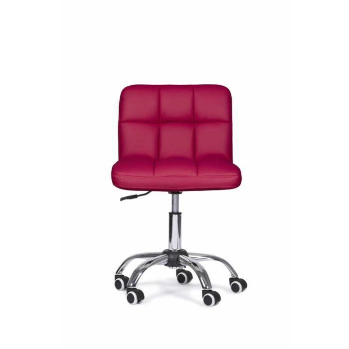CHAISE DE BUREAU Chaise De Bureau Zuni Fushia Fonc