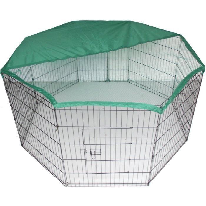 Bunny Business Cage-enclos Avec Filet Pour Lapin-cochon D'inde-chien-chiot-chat - 139,7cm: Animalerie