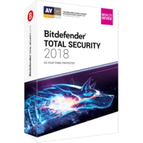 BUREAUTIQUE À TÉLÉCHARGER Logiciel Bitdefender Total Security 2018 - 5 appar