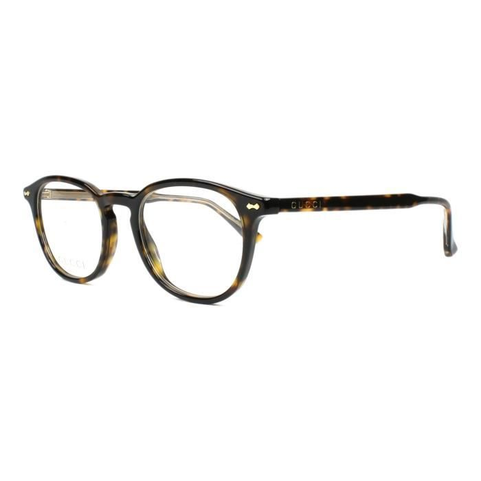 6925c1d58c3bf Lunettes de vue Gucci GG-0187-O -006 - Achat   Vente lunettes de vue ...