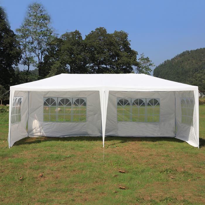 Complètement et trop extrême Tente De Réception 3x6M Chapiteau Tente décoration Festivité &QL_57