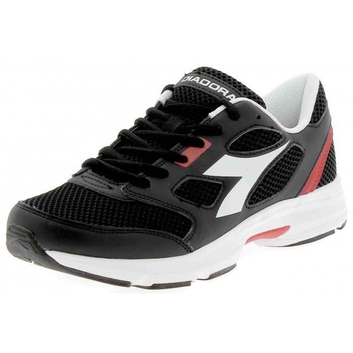 Diadora Shape 6 Sl Chaussures de Sport Homme Noir Cuir Noir - Livraison Gratuite avec - Chaussures Baskets basses Homme