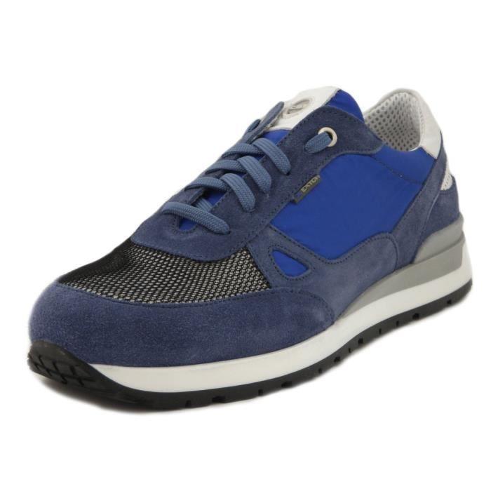 Homme EXTON en EXTON 993 Sneaker Sneaker bleu daim tissu et twHq5