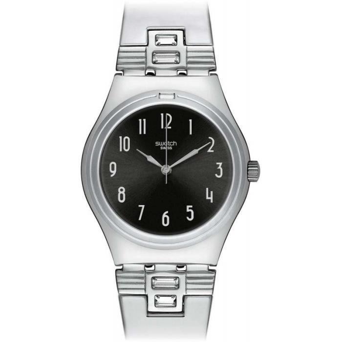 ec3801a848 ... Montre Femme Swatch SFM118M bracelet acier inoxydable ,; Montre ...