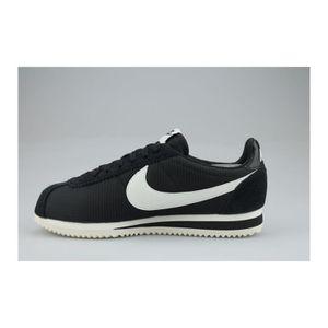 Nike Classic Cortez Leather SE Formateurs Baskets en Noir & Blanc 861535 003[UK 9.5EU 44.5] 4BxWjKR