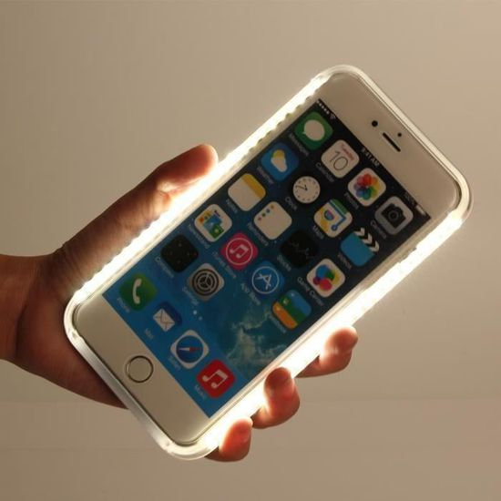 coque iphone 6 a led