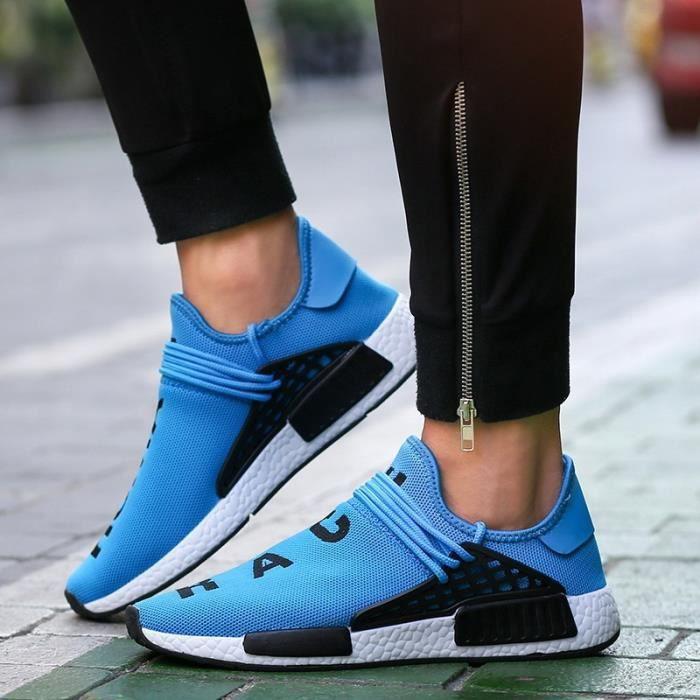2017 Nouveau Femmes Respirant Chaussures de course léger Chaussures Hommes Sport Chaussures Sneakers chaussures de sport