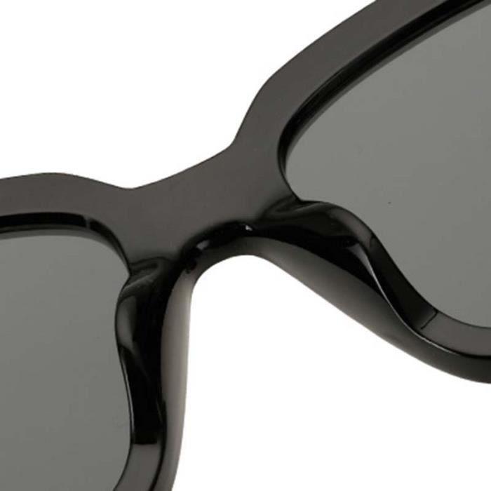 Mode UV400 Lunettes de Soleil Carrées Unisexe Homme Femme Lunettes Solaires Aviator Sunglasses Surdimensionné #6