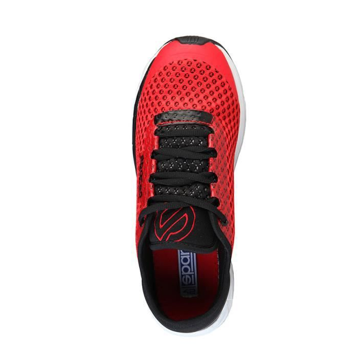 Sparco - Chaussures rouges, noir Daytona