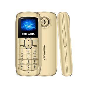 SMARTPHONE KECHAODA K10 Téléphone mobile GSM 2G débloqué télé