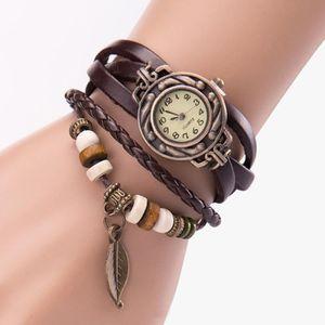BRACELET DE MONTRE @XYQ50330127A Femmes Fille Montres Vintage, Bracel