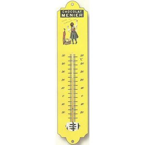 Thermometre interieur exterieur metal achat vente pas cher for Thermometre interieur pas cher