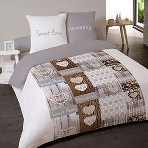 housse de couette en flanelle 200x200 achat vente housse de couette en flanelle 200x200 pas. Black Bedroom Furniture Sets. Home Design Ideas