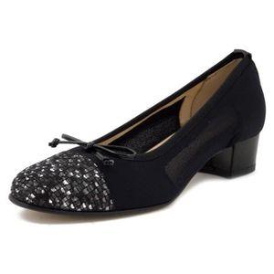 comment trouver meilleurs prix modèle unique Escarpins cuir femme 3cm noir