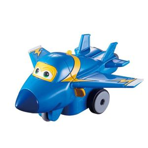 FIGURINE - PERSONNAGE SUPER WINGS Vroom'n'Zoom - Avion JEROME à friction