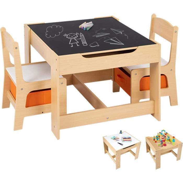 2 1fj3ktlc Table Pour Et Enfant Enfants Chaises Ensemble TKcFlJ31