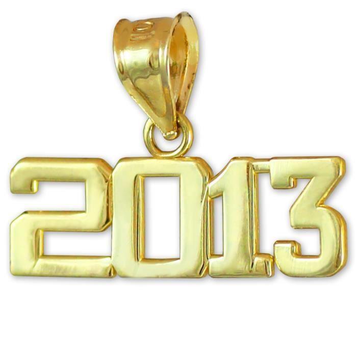 Pendentif 10 ct 471/1000 OrClasse de 2013-Graduation