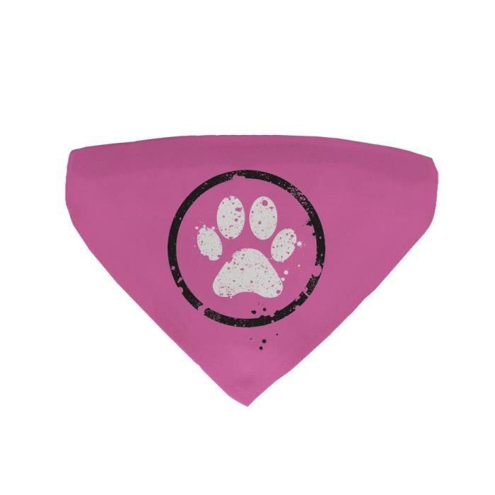 30a404c5d750 Bandana pour chien Patte Rose - Achat   Vente foulard - cravate ...