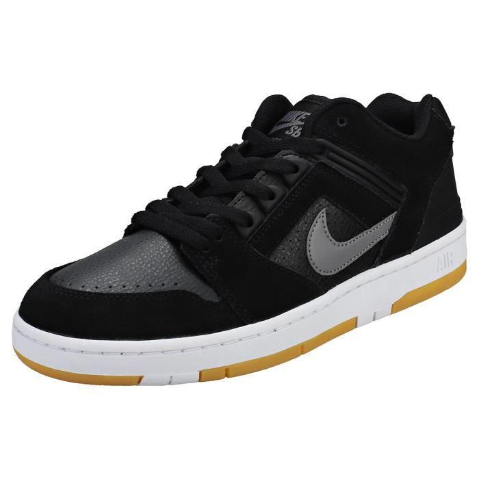 acheter populaire aa499 e9f56 Nike SB Air Force Ii Low Homme Baskets Gris Noir