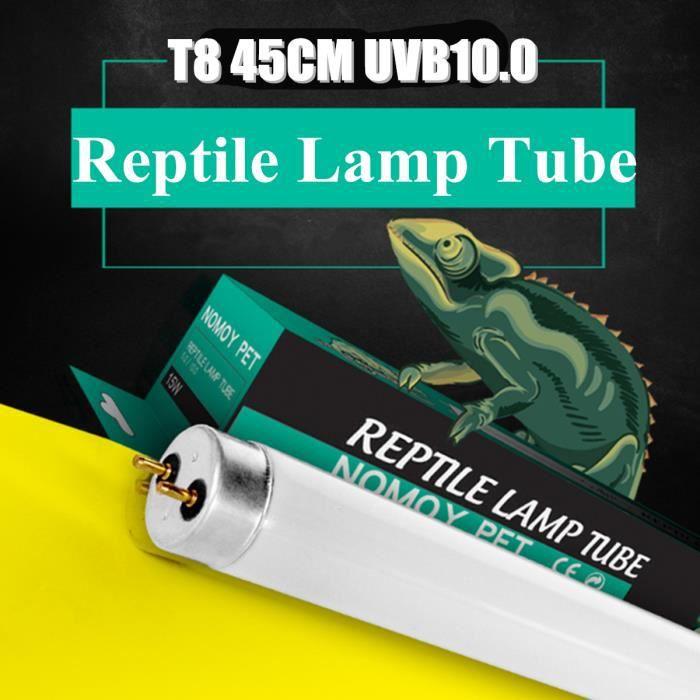 ÉCLAIRAGE T8 45cm UVB 10,0 15W Tube Fluorescent à Reptile Lé