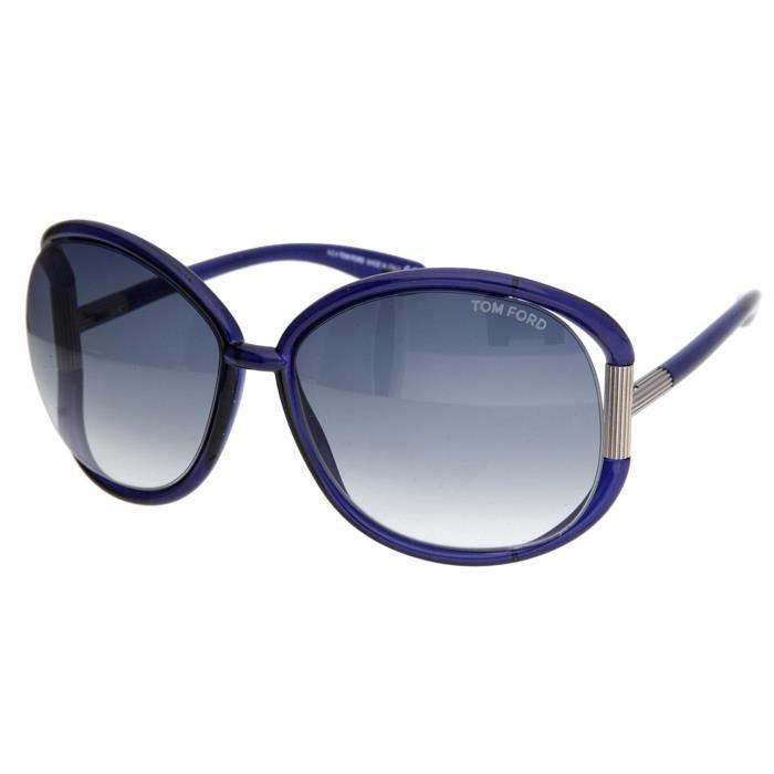 Tom Ford Femmes Lunettes de soleil Olivia Bleu FT0078-6190B - Achat ... cb5309711c04