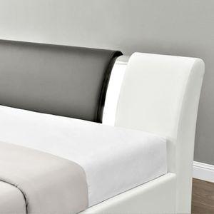 lit coffre 90x190 achat vente lit coffre 90x190 pas cher soldes d s le 10 janvier cdiscount. Black Bedroom Furniture Sets. Home Design Ideas
