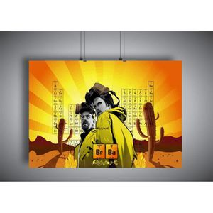 AFFICHE - POSTER Poster breaking bad Wall art 01 - A3 (42x29,7cm)