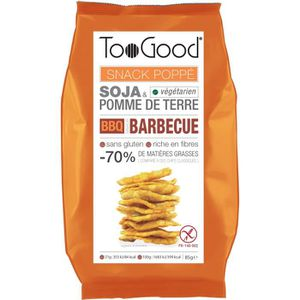 CHIPS Toogood biscuits apéritifs saveur Barbecue 85g