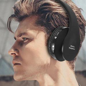 CASQUE - ÉCOUTEURS LR Écouteur Stéréo Hifi- Sans Fil De Bluetooth Pou