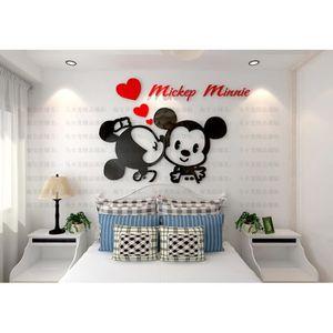 Decor de chambre minnie achat vente pas cher - Decoration mickey chambre ...
