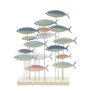 Decoration poisson metal - Achat / Vente pas cher