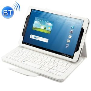 HOUSSE TABLETTE TACTILE Clavier QWERTY blanc pour Samsung Galaxy Tab A 10.