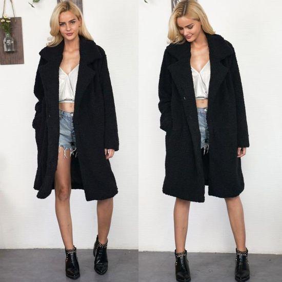 Zly70907782bk Chaud Pour Parka Femme Manteau D'hiver Kanyrne Noir Outwear Long w87Fv
